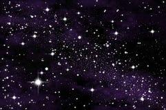 Estrela no universo Imagens de Stock Royalty Free