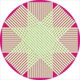 Estrela oito pointed Fotografia de Stock