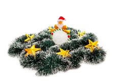 Estrela Papai Noel Fotos de Stock Royalty Free