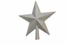 Estrela para um abeto Imagens de Stock Royalty Free