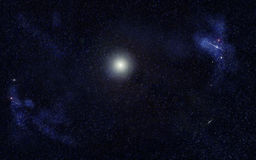 Estrela polar Fotografia de Stock