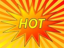 Estrela quente Imagens de Stock