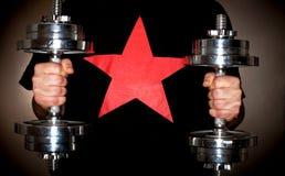 Estrela super imagem de stock