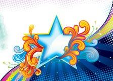 Estrela superior Imagem de Stock