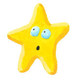 Estrela surpreendida Fotografia de Stock Royalty Free