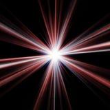 Estrela vermelha ilustração royalty free
