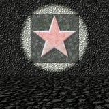 estrela vermelha Cinco-aguçado Ilustração Royalty Free