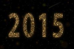 2015 estrelado Imagens de Stock Royalty Free