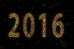 2016 estrelado Imagem de Stock Royalty Free
