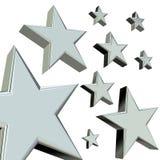 estrelas 3D Fotografia de Stock