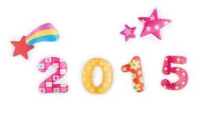 2015 estrelas Imagem de Stock