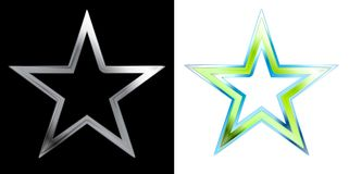 Estrelas abstratas Fotografia de Stock