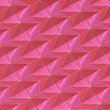 Estrelas abstratas violetas vermelhas - teste padrão de superfície do relevo - fundo quadrado Fotos de Stock