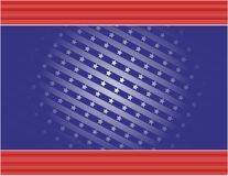 Estrelas & fundo das listras Imagem de Stock
