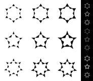Estrelas b ilustração do vetor