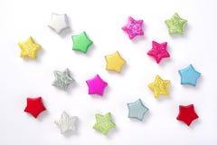 Estrelas coloridas Imagens de Stock