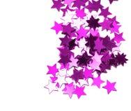 Estrelas da celebração foto de stock