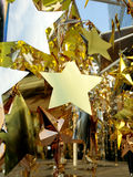 Estrelas da decoração Fotos de Stock Royalty Free