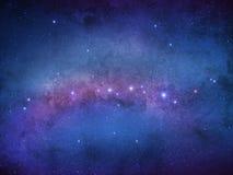 Estrelas da galáxia - universo da infinidade imagens de stock
