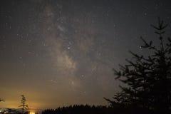 Estrelas da Via Látea Imagens de Stock