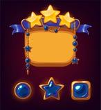 Estrelas da vitória do jogo Fotografia de Stock Royalty Free