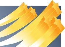Estrelas de aumentação ilustração stock