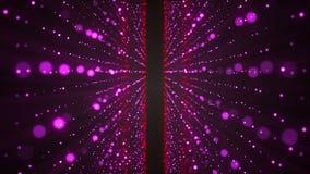 Estrelas de brilho abstratas Elementos coloridos no fundo preto ilustração stock