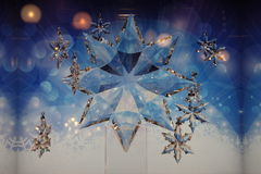 Estrelas de cristal Foto de Stock Royalty Free