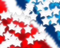 Estrelas de Digitas e listras 3 Imagens de Stock Royalty Free