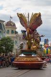 Estrelas de Disney na parada Imagem de Stock Royalty Free