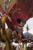 Estrelas de Disney na parada Fotos de Stock Royalty Free