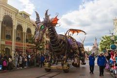 Estrelas de Disney na parada Imagens de Stock
