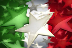 Estrelas de Italy ilustração stock