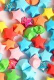 Estrelas de papel fotos de stock royalty free