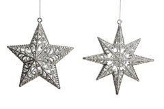 Estrelas de prata Foto de Stock