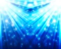 Estrelas de queda Fotografia de Stock Royalty Free