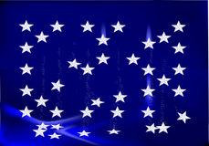 Estrelas de queda Fotos de Stock