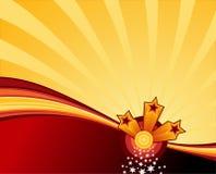 Estrelas de Swooshing Imagens de Stock