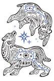 Estrelas de Ursa Major Fotografia de Stock Royalty Free