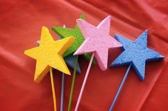 Estrelas decorativas Fotos de Stock Royalty Free