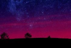 Estrelas do céu da manhã Fotografia de Stock Royalty Free