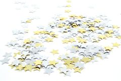 Estrelas do Confetti Foto de Stock