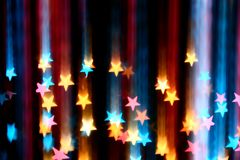Estrelas do disco Fotografia de Stock Royalty Free