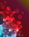 Estrelas do fundo Imagem de Stock