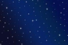 Estrelas do inverno ilustração do vetor