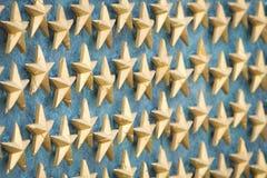 Estrelas do memorial da segunda guerra mundial Fotos de Stock