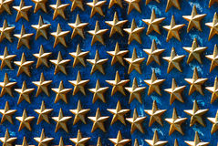 Estrelas do memorial da segunda guerra mundial Foto de Stock Royalty Free