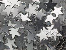 Estrelas do metal Fotografia de Stock