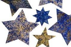 Estrelas do Natal Fotografia de Stock Royalty Free