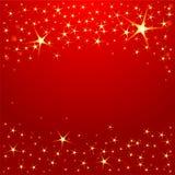 Estrelas do Natal ilustração do vetor